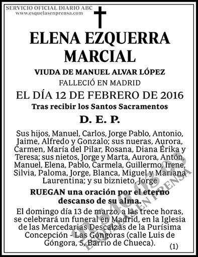 Elena Ezquerra Marcial